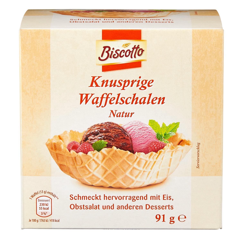 Biscotto Waffelschalen 91 g*