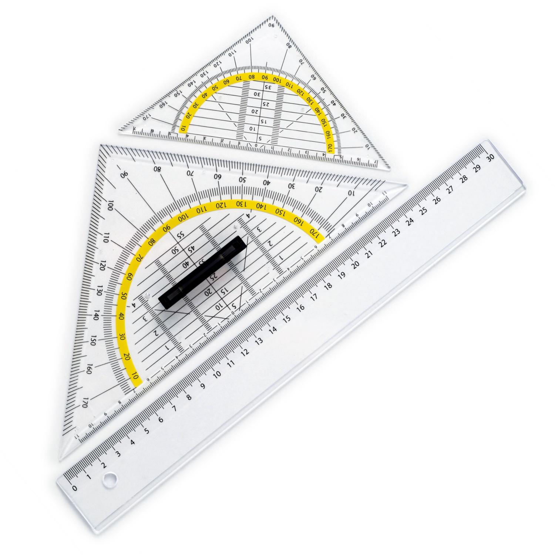 Geometrie-Zeichen-Set