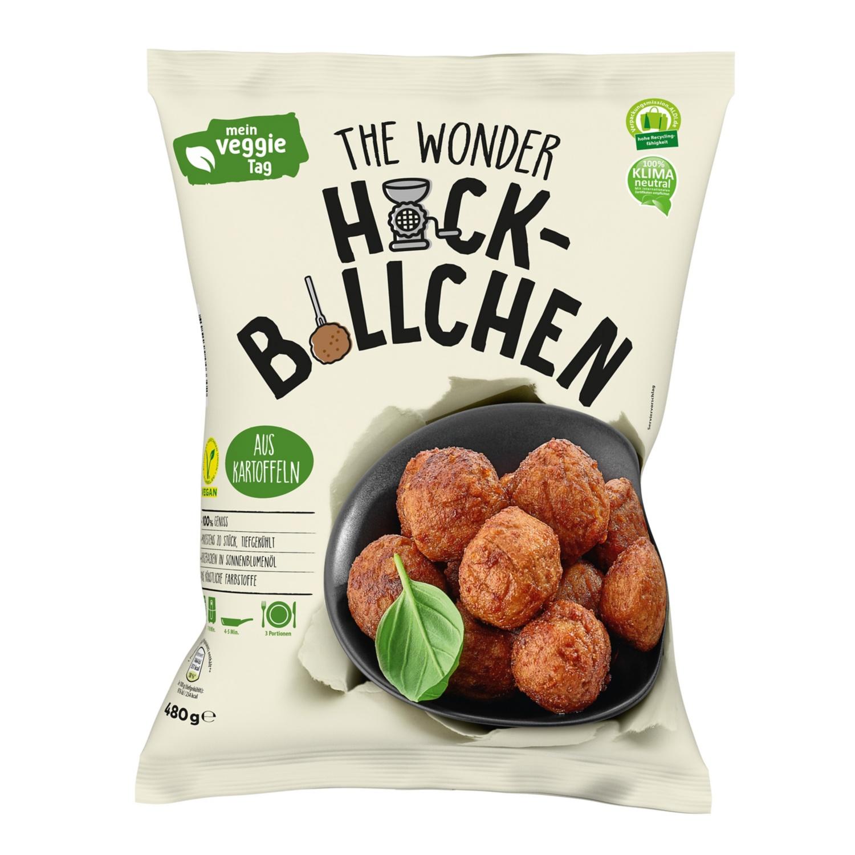 Mein Veggie Tag The Wonder Burger/Hackbällchen 480 g