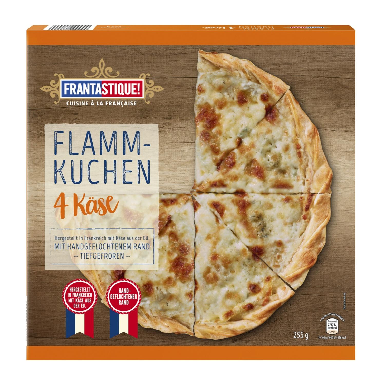 PIZZA'AH Flammkuchen 4 Käse 255 g
