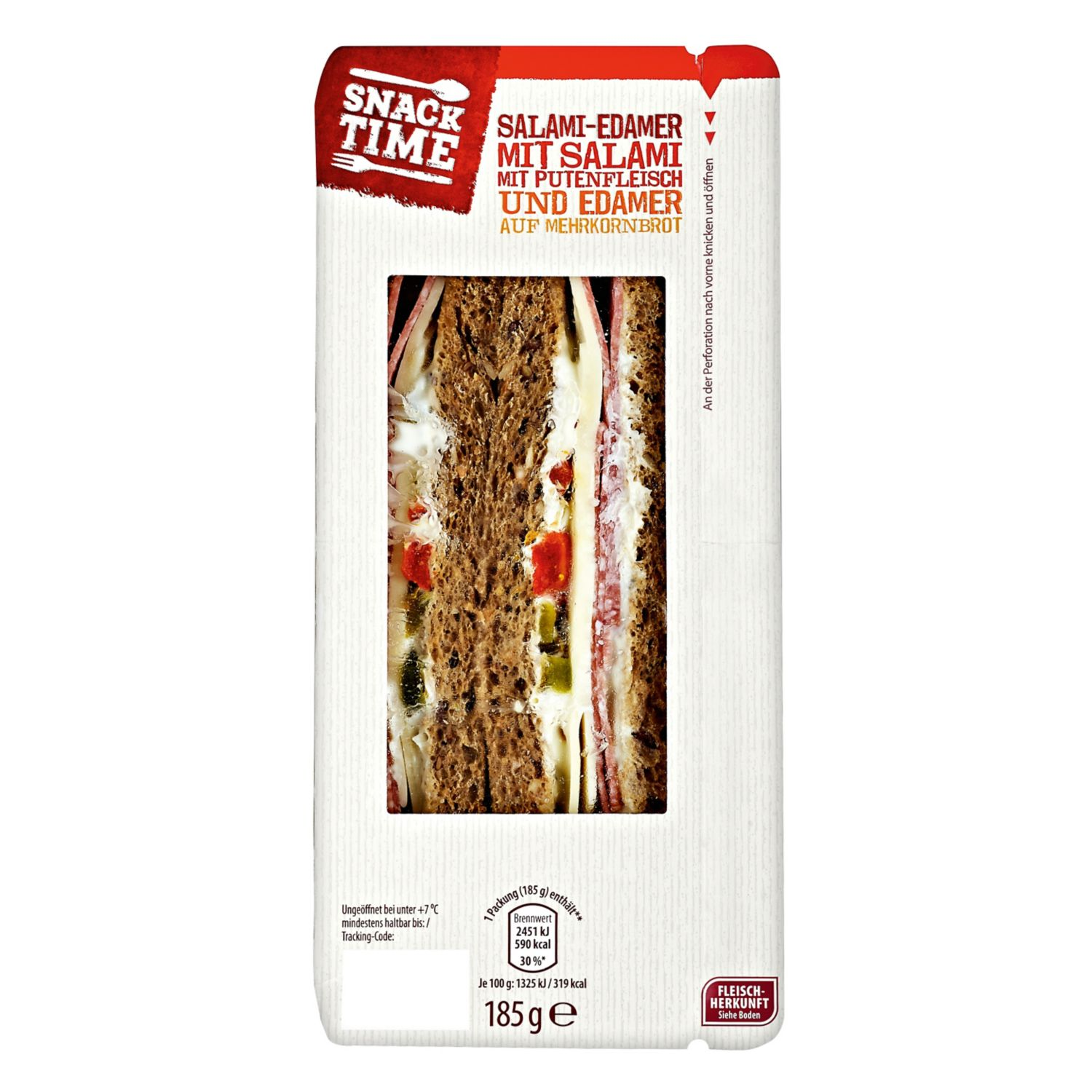 Snack Time Sandwiches 185 g