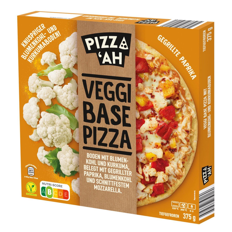 Pizz'Ah Veggi Base Pizza Blumenkohl-Kurkuma 375 g