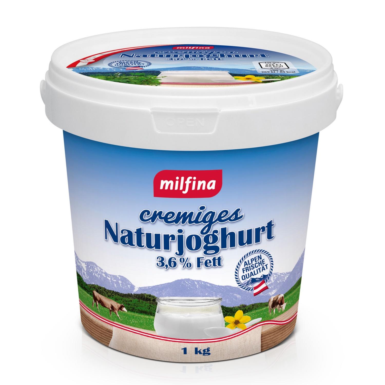 MILFINA Naturjoghurt 3,6%