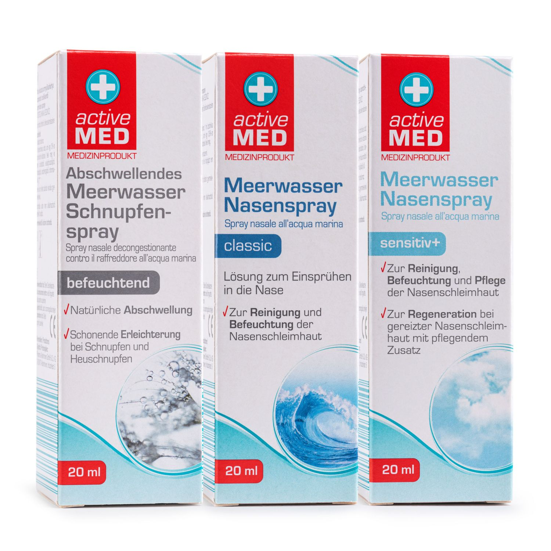 ACTIVE MED Meerwasser Spray