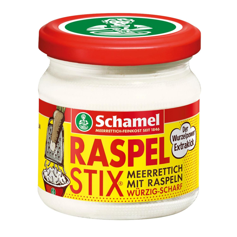 Schamel RASPELSTIX® Meerrettich mit Raspeln 180 g