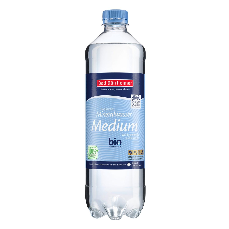 Bad Dürrheimer Natürliches Mineralwasser 0,75 l