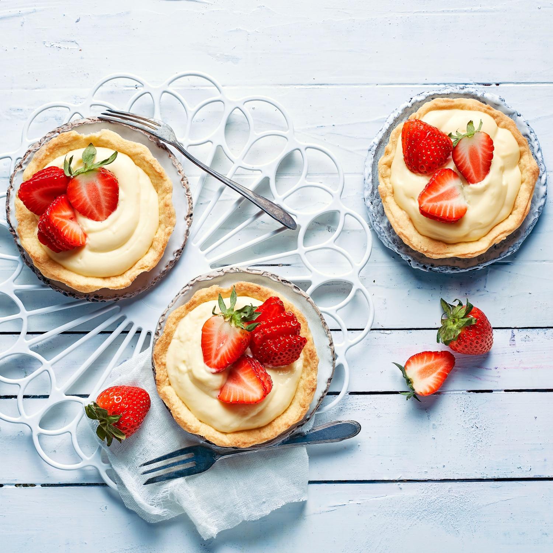 Kleine Erdbeer-Tartelettes