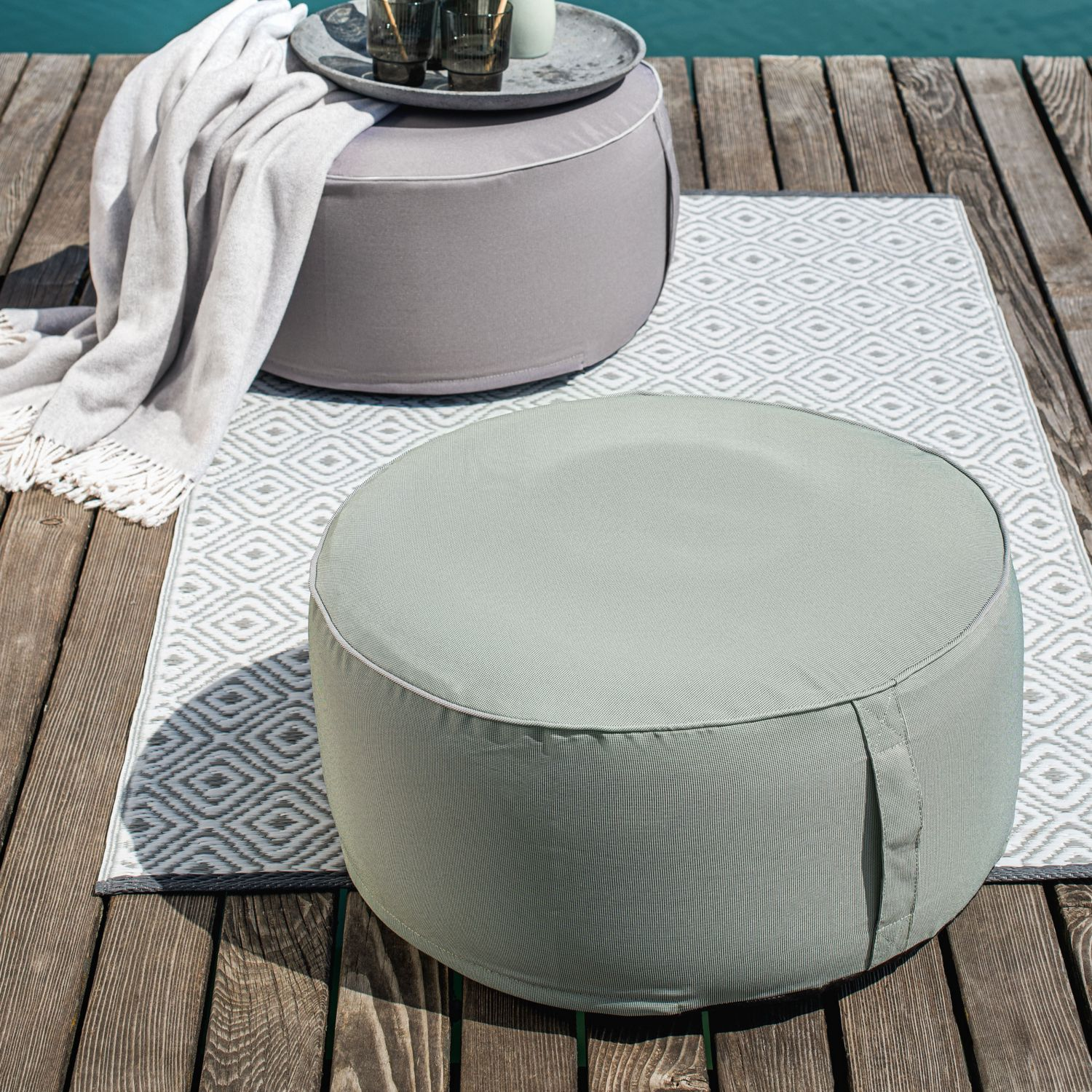 MY LIVING STYLE Outdoor-Pouf