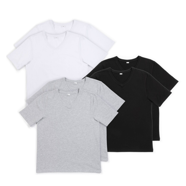 WATSON'S Herren-Unterzieh-T-Shirt, Baumwolle (BIO), Doppelpkg.