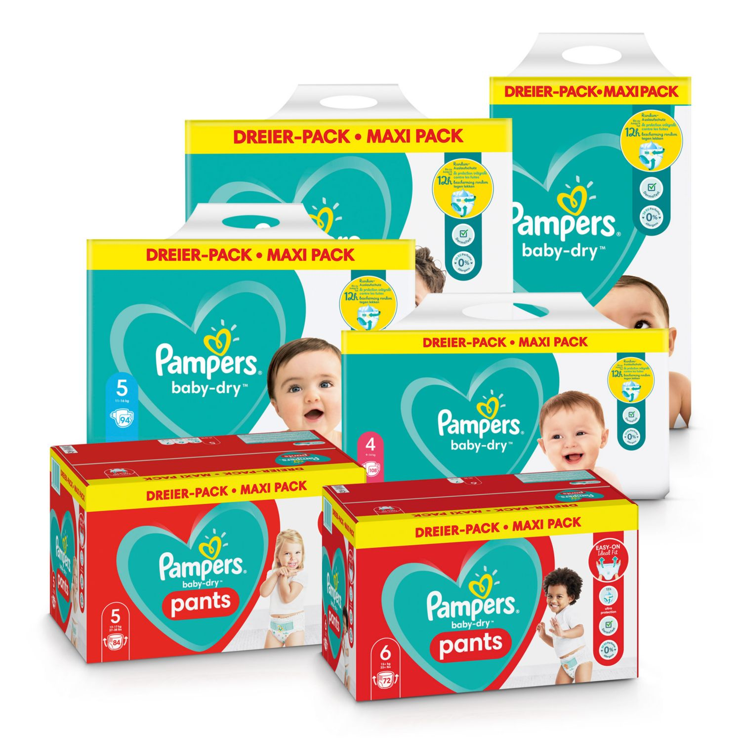 PAMPERS Windeln/Pants