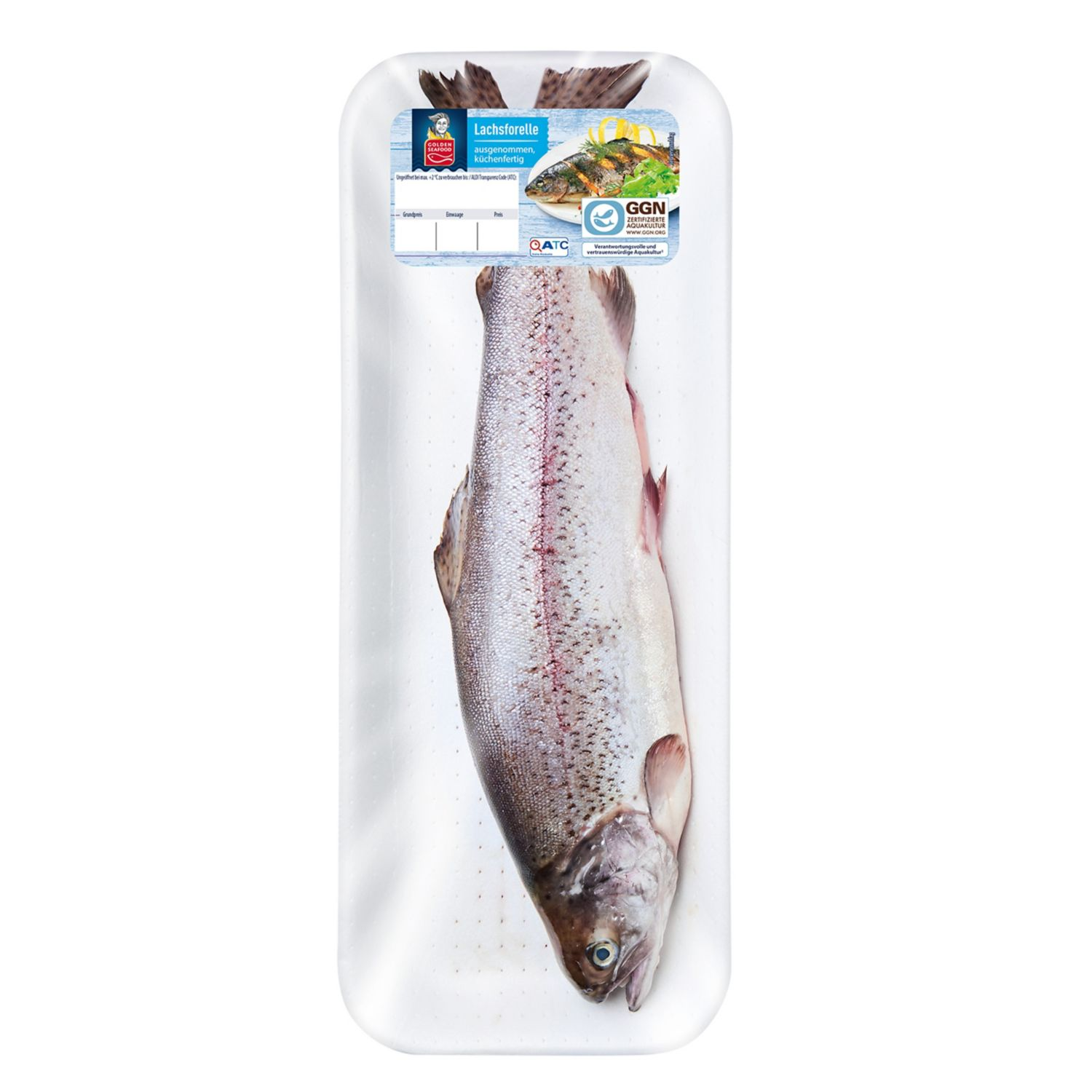 GOLDEN SEAFOOD Lachsforelle 750 g*