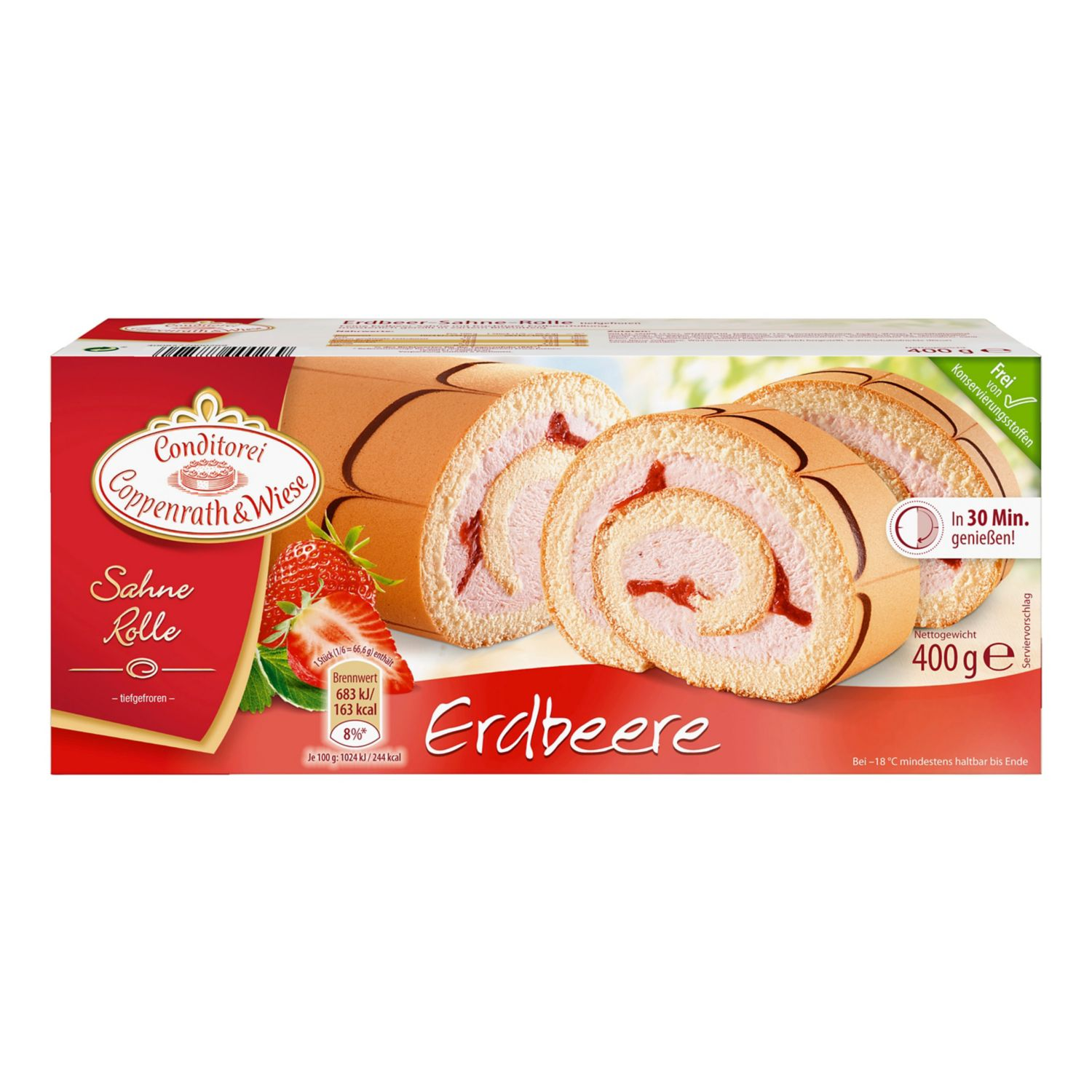 Coppenrath & Wiese Sahne Rolle 400 g*