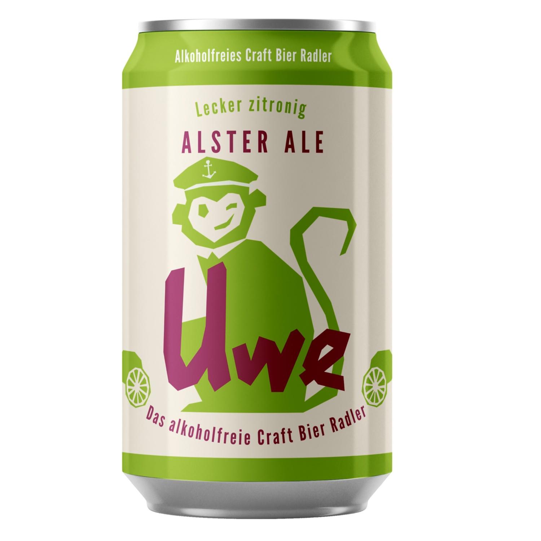 Uwe Alkoholfreies Craft Bier 0,33 l*