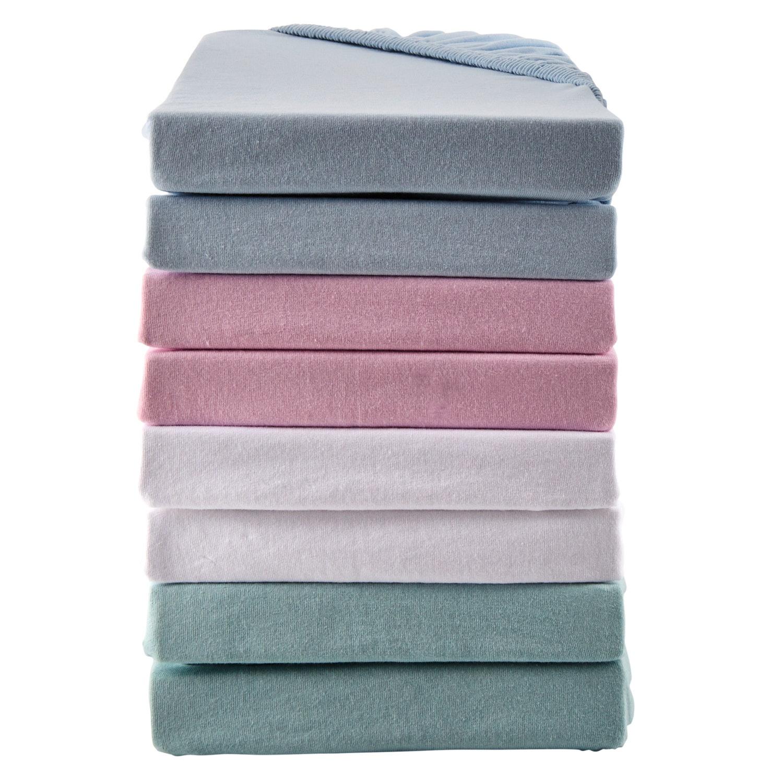 DORMIA Jersey-Spannbetttücher für Kinderbetten, 2er Packung*