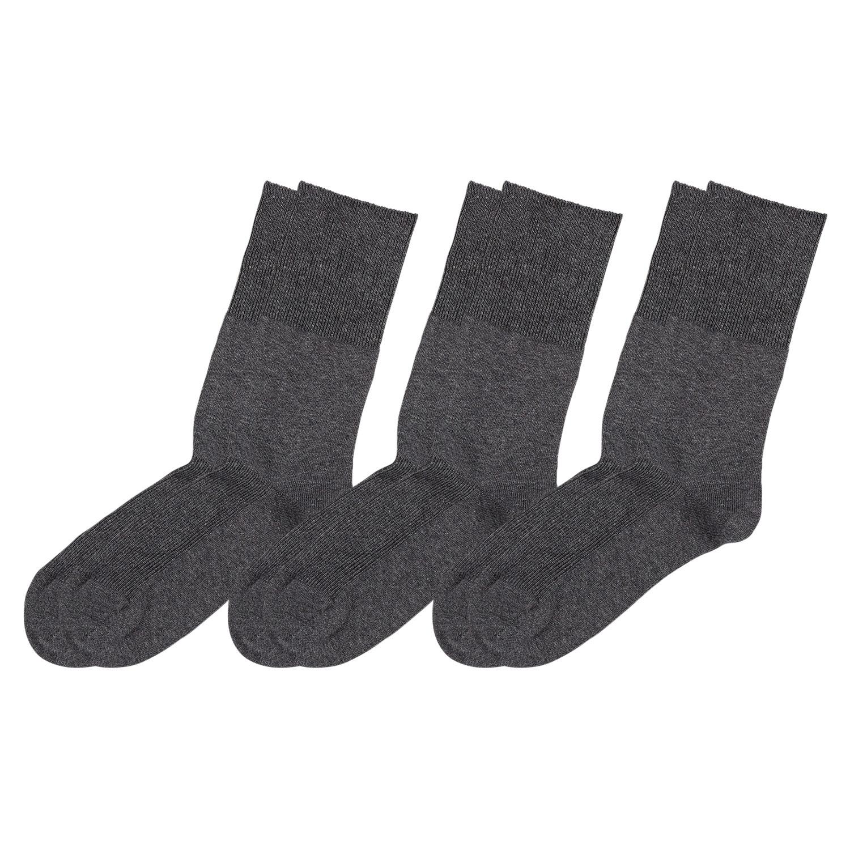 Venenfreundliche Damen und Herren Socken, 3er-Packung*
