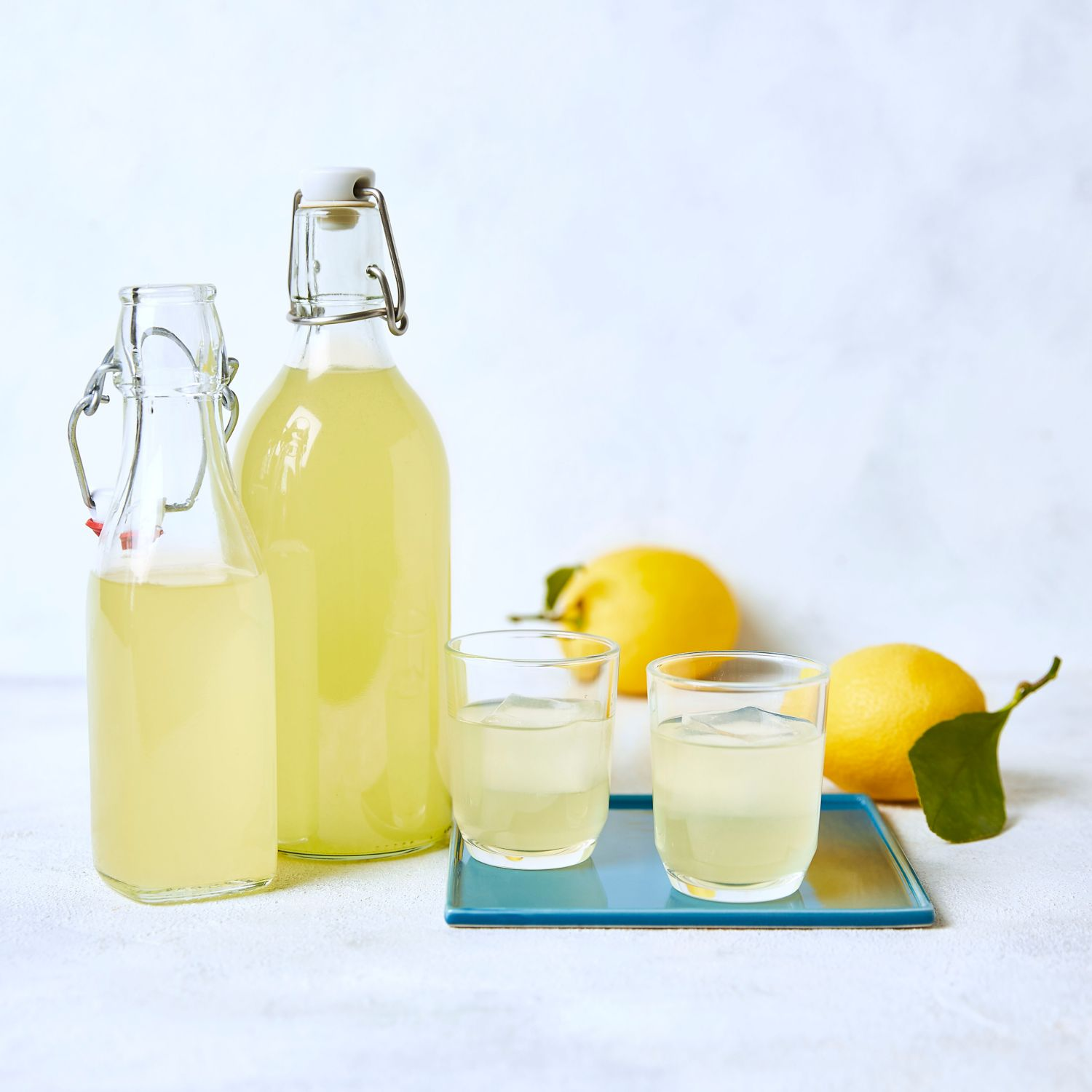 Selbstgemachter Limoncello