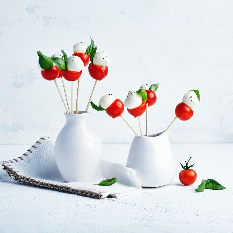 Tomaten-Mozzarella-Sticks/Party-Fingerfood