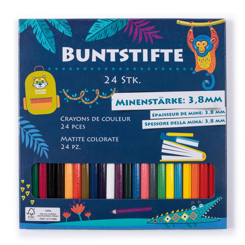 Buntstifte, 24er