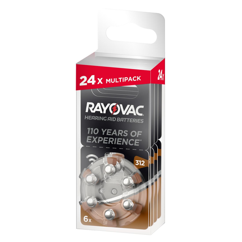 RAYOVAC Hörgerätbbatterien, 24er-Packung*