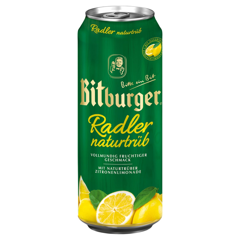 Bitburger Radler Naturtrüb 0,5 l