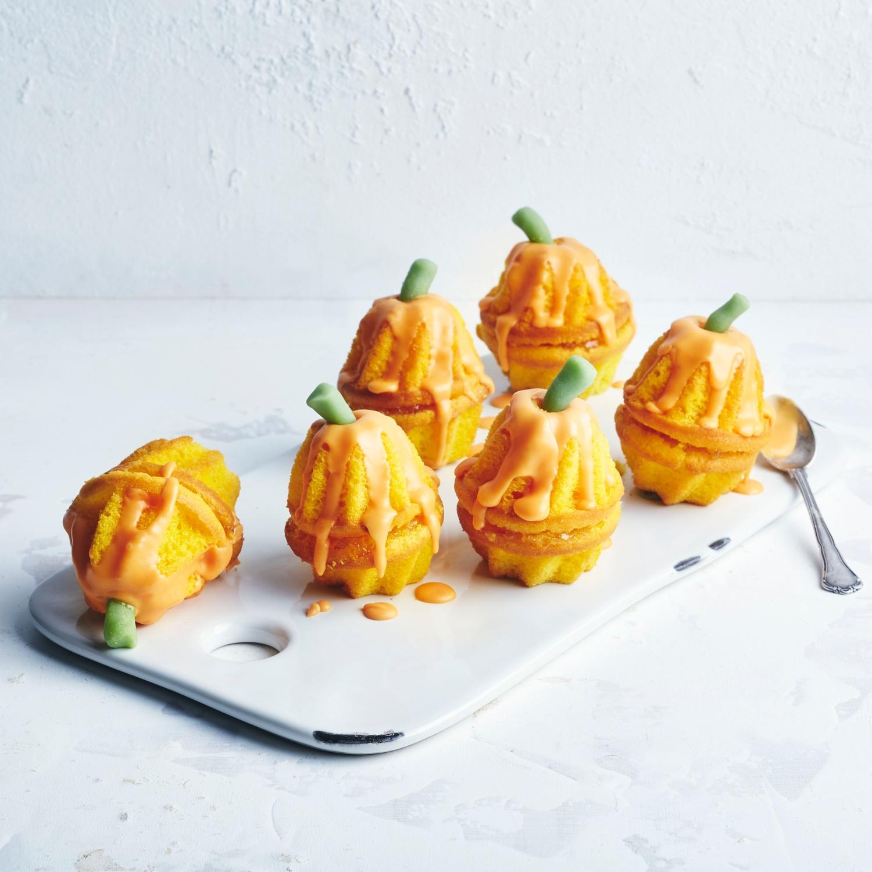 Mini-Kürbis-Orangen-Kuchen