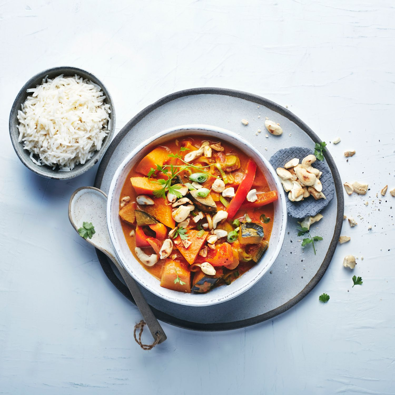 One Pot Kürbis Curry