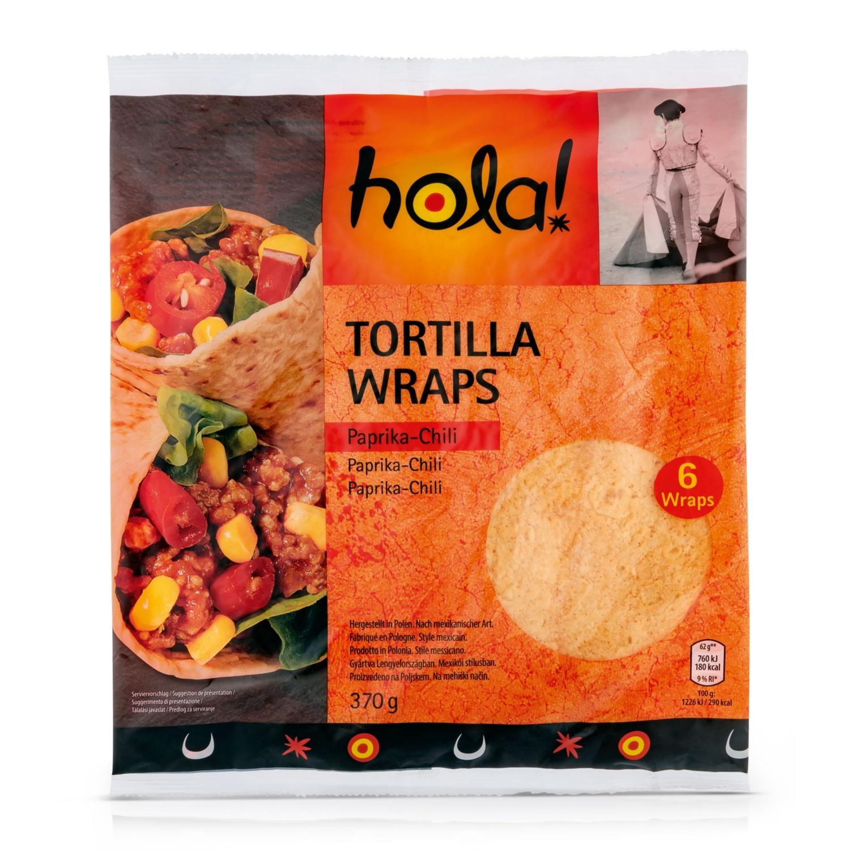 HOLA! Tortilla Wraps Mexico, Chili