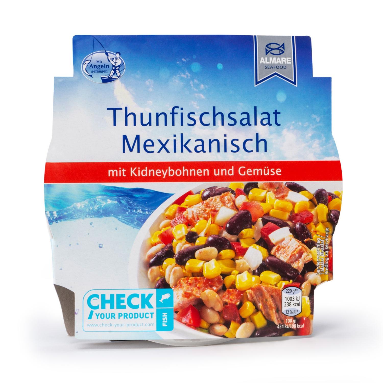 ALMARE SEAFOOD Gemüse-Thunfischsalat, Mexikanisch