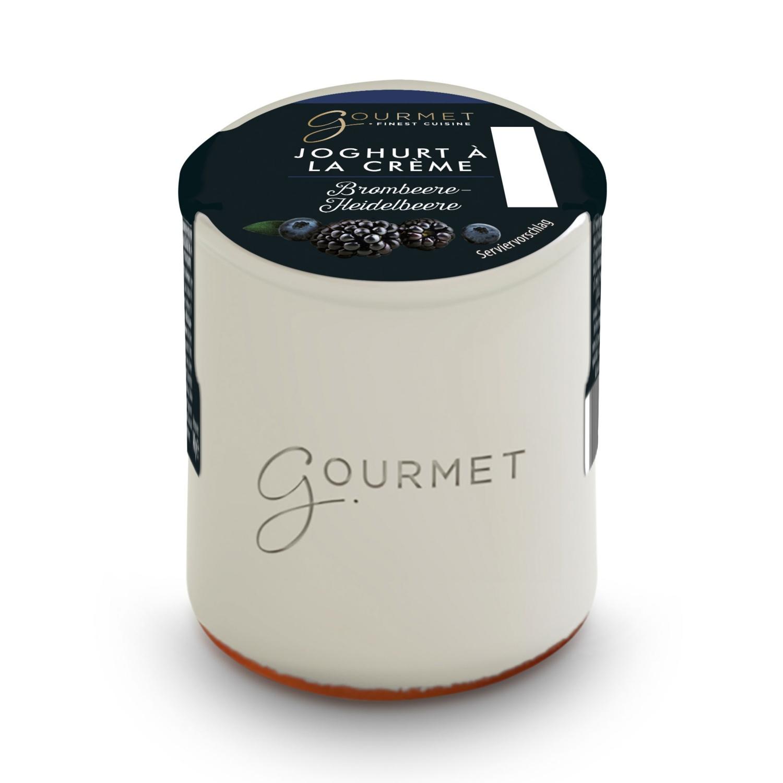 Joghurt a la crème, Brombeer-Heidelbeere