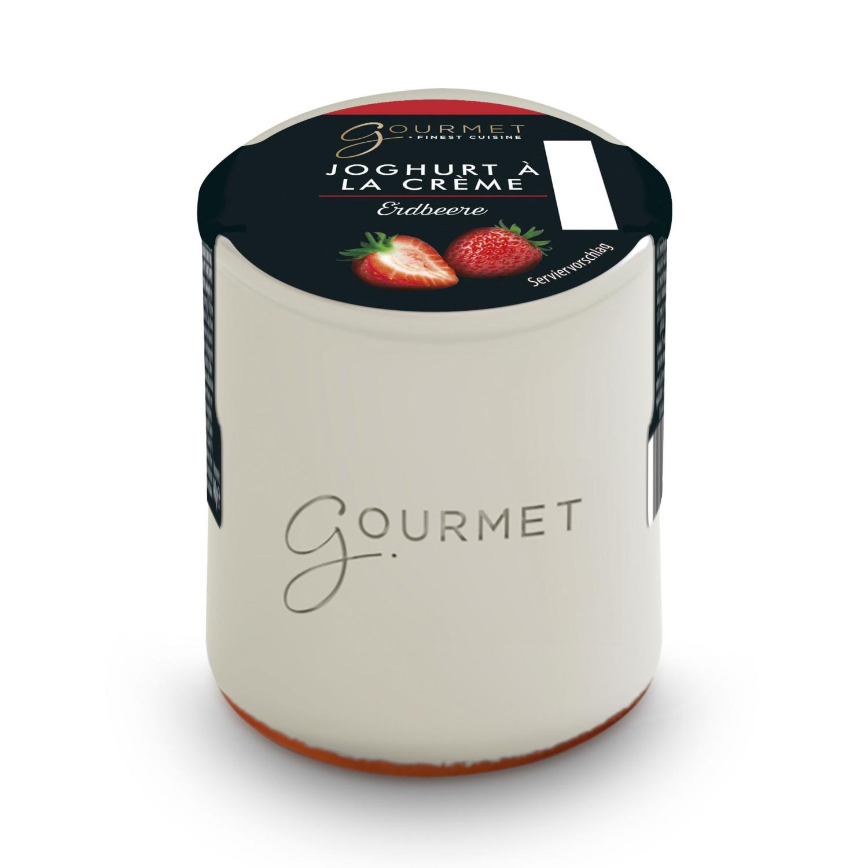 Joghurt a la crème, Erdbeere