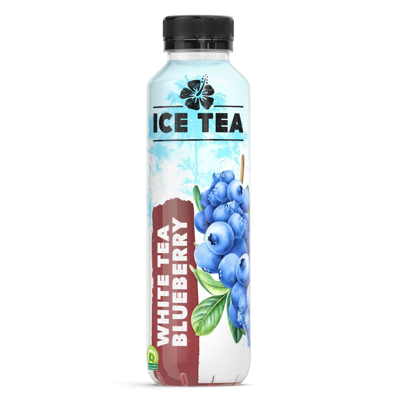 Eistee Sommersorten, White Tea Blueberry