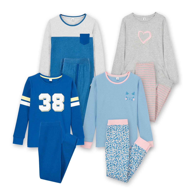 ALIVE Kinder-Pyjama, Baumwolle (BIO)