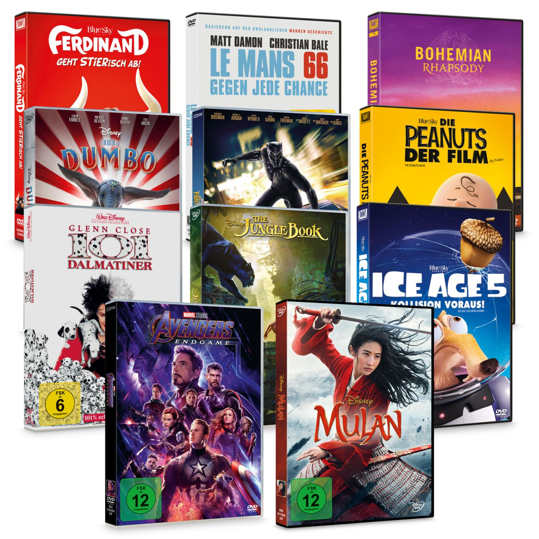 DISNEY DVD Spielfilme