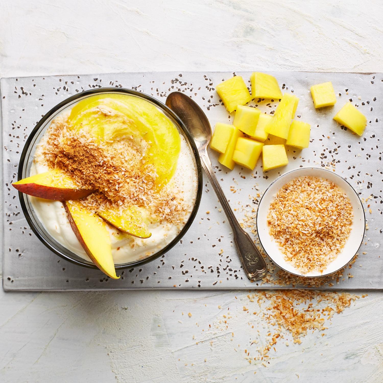Mango-Colada-Dessert