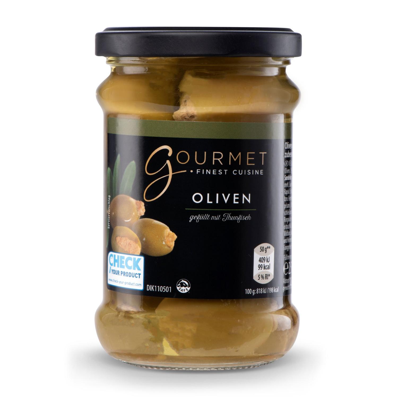 GOURMET Thunfisch-Antipasti, Oliven