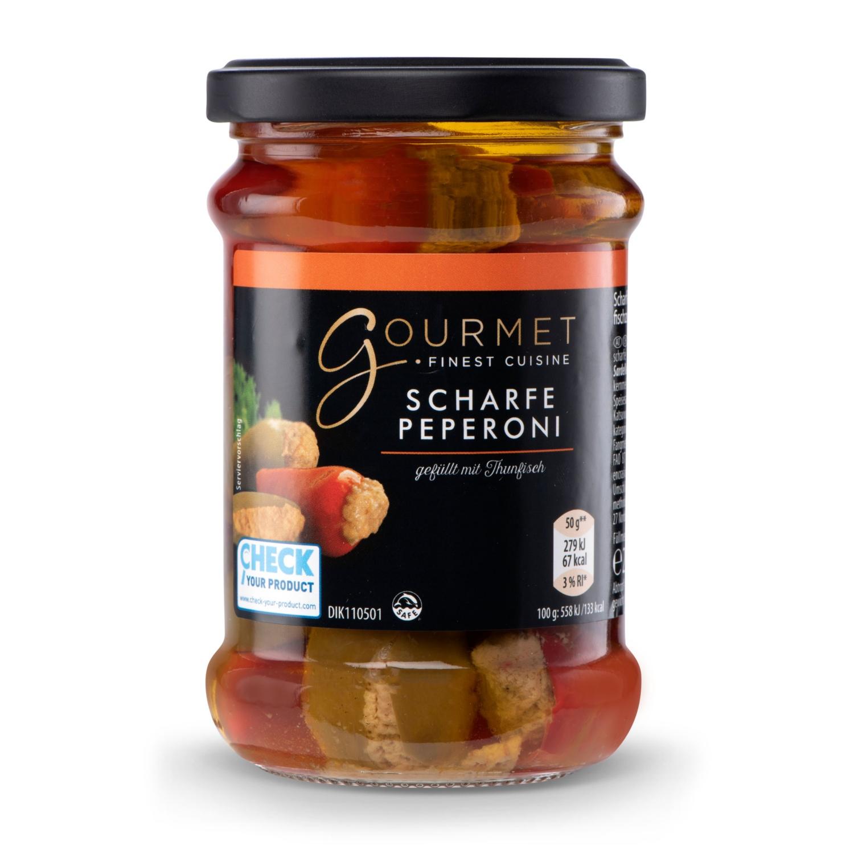 GOURMET Thunfisch-Antipasti, Pfefferoni