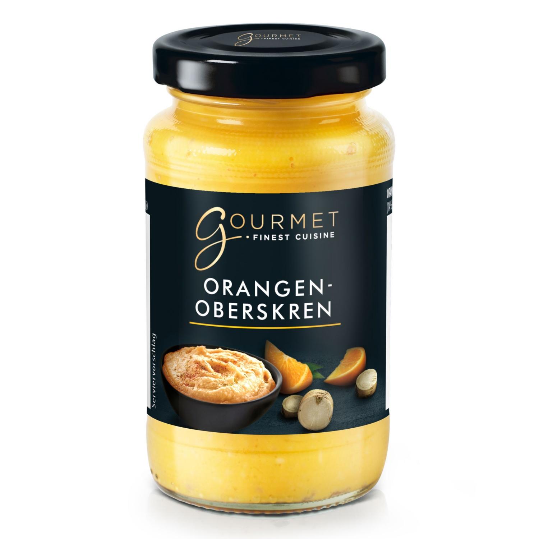 GOURMET Meerrettich, Orange-Sahne
