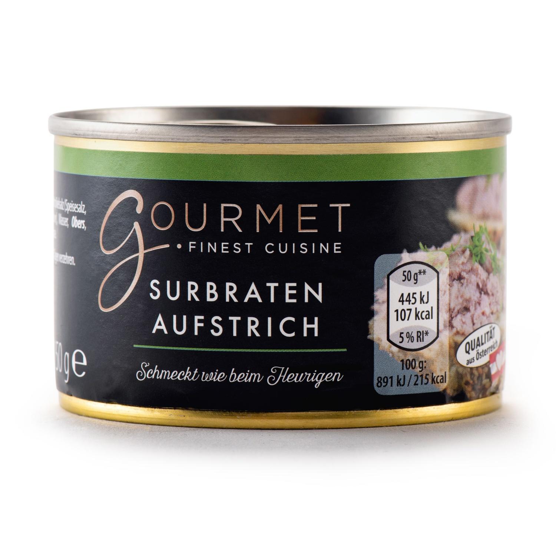 GOURMET Heurigenaufstrich, Surbraten