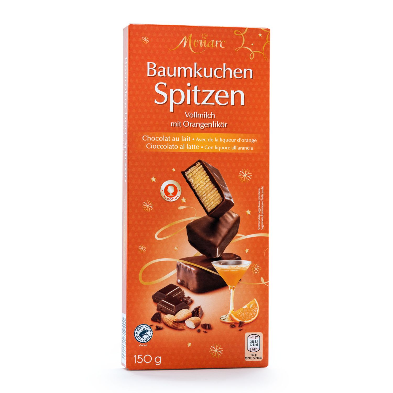 MONARC Baumkuchenspitzen, Orangenlikör