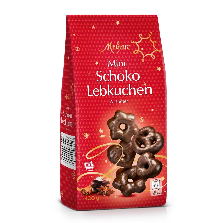 MONARC Mini Schoko Lebkuchen, Zartbitter