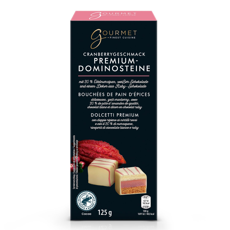 GOURMET Dominosteine, Cranberry