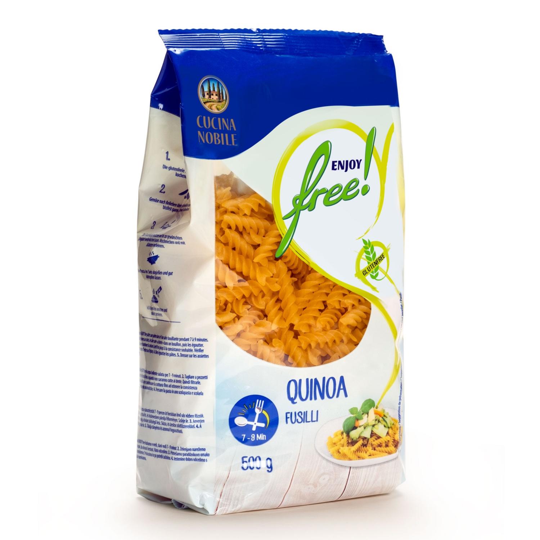 ENJOY FREE! Glutenfreie Spezialteigwaren, Mehrkorn Fusilli