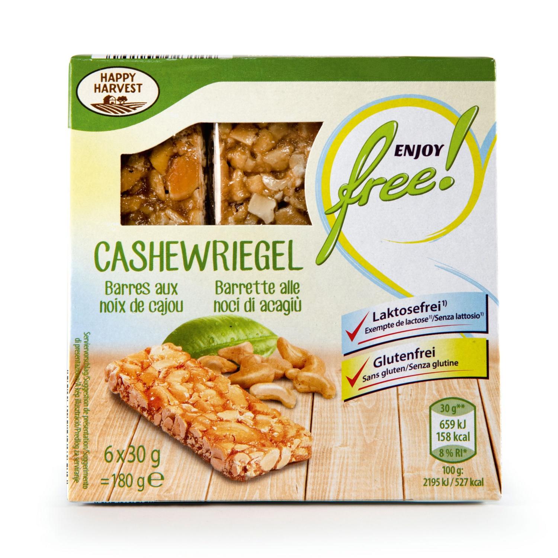 ENJOY FREE! Riegel glutenfrei, Cashew