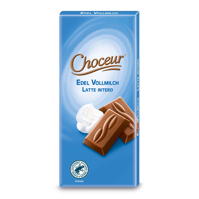CHOCEUR Mini-Schokolade, Vollmilch