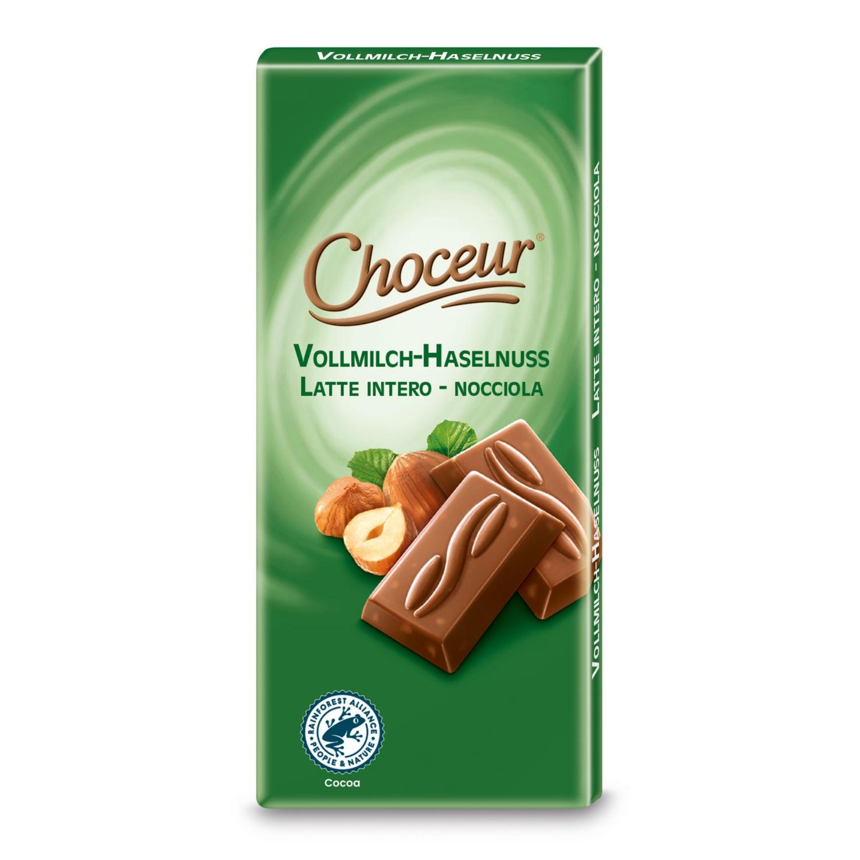 CHOCEUR Mini-Schokolade, Vollmilch-Haselnuss
