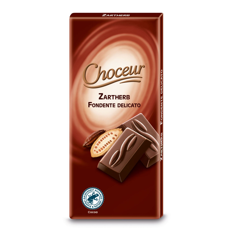CHOCEUR Mini-Schokolade, Zartbitter