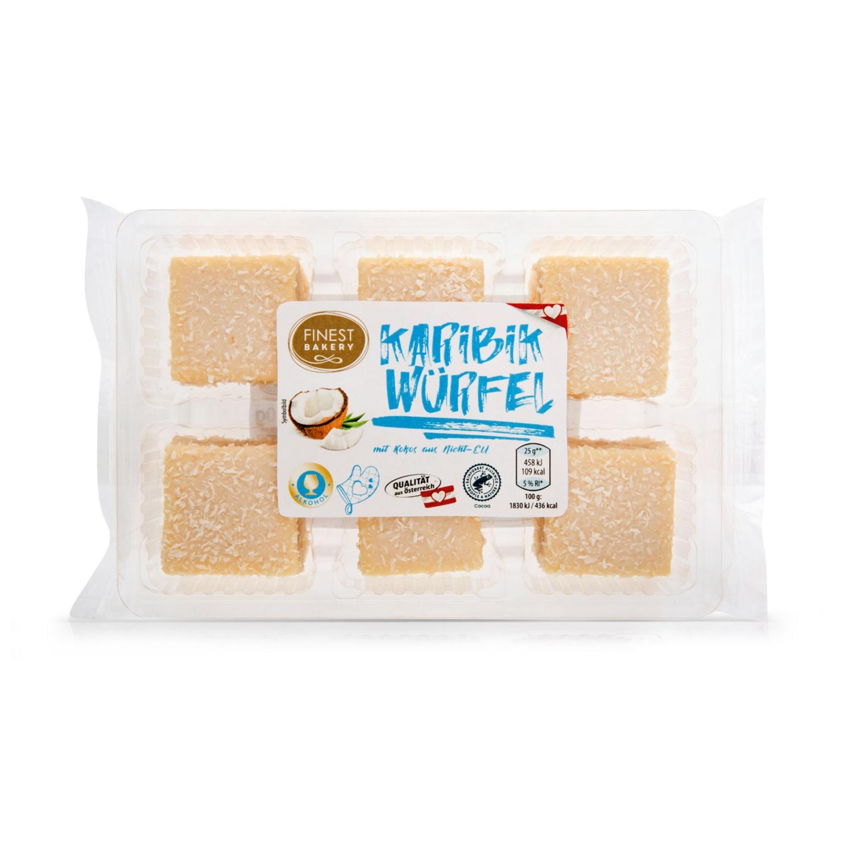 FINEST BAKERY Würfel-Variation, Karibik