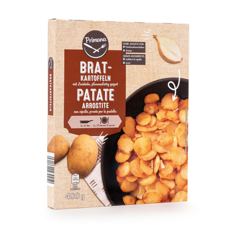PRIMANA Kartoffelgerichte, Bratkartoffel mit Zwiebel