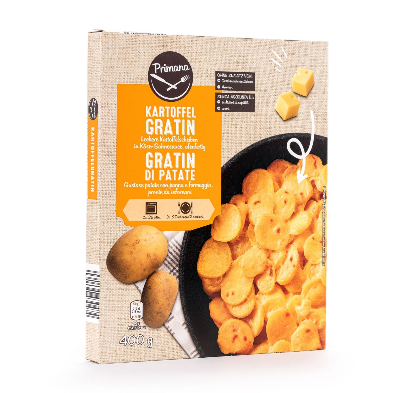 PRIMANA Kartoffelgerichte, Kartoffelgratin