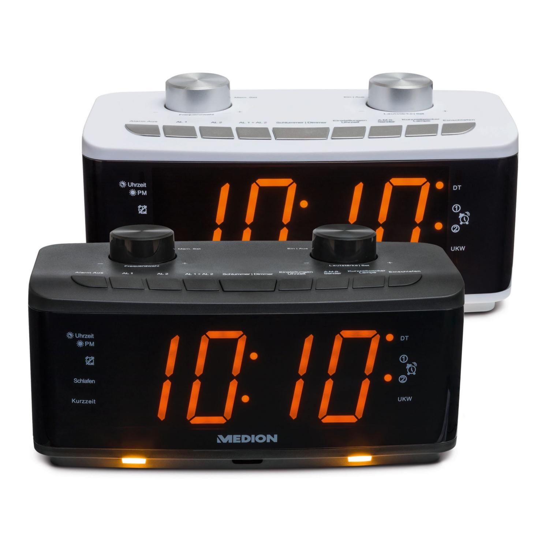 Uhrenradio mit Nachtlicht MEDION® LIFE® P66173